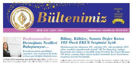 OCAK-ŞUBAT-MART 2019 BÜLTENİ