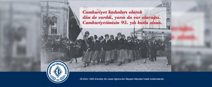 EKL'ler 95. Cumhuriyet Bayramı'nı kutluyor.