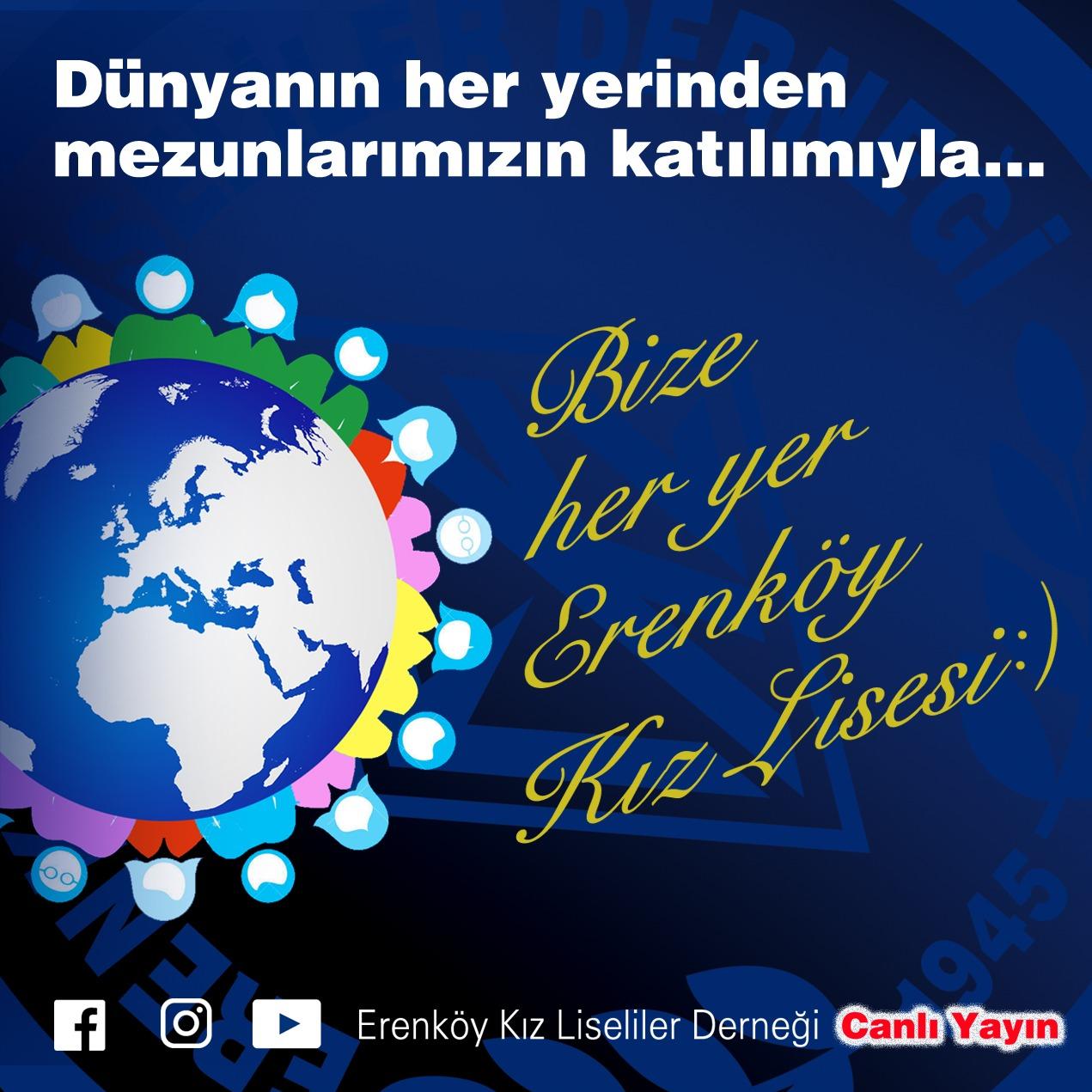 Erenköy Kız Lisesi Mezunlar Günü 25 Nisan 2021